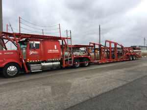 *******WESTERN STAR AND COTTRELL CAR CARRIER WITH JOB ******