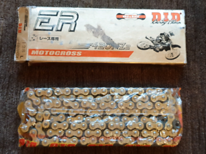 D.I.D (DID) ER 420 NZ 2 Gold & Black Gold and Black Racing Chain Port Melbourne Port Phillip Preview