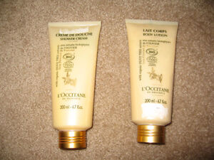 L'OCCITANE~~SHOWER CREAM and BODY LOTION set