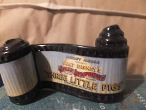 THE OPENING TITLE FIGURINE FROM THREE LITTLE PIGS