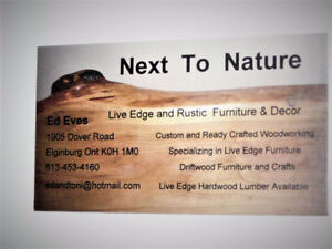 Live Edge Coffee Tables and Crafts
