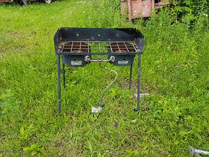 2 burner high btu cook stove