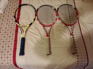 3 Pre-Owned Babolat Rackets for sale