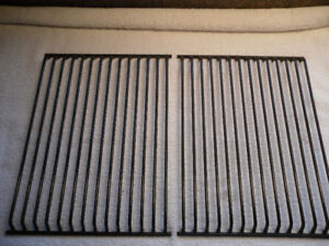 new stainless steel BBQ burner + 2 grilles
