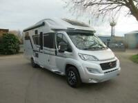 ADRIA CORAL SUPREME 670 SL, Luxury 3 berth motorhome with rear twin singles