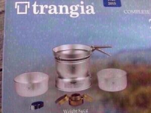 Trangia 25-1UL ALU Campstove Set for 3-4 pers(2pots and frypan)(NEW)