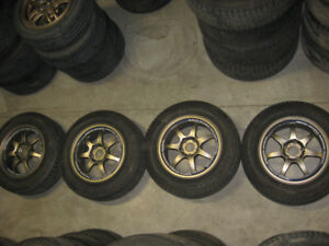 215/65/16 MICHELIN TIRES WEDS SPORT RACING 5X114.3 MAGWHEEL JDM