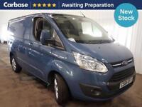 2014 FORD TRANSIT CUSTOM 2.2 TDCi 125ps 290 L1 Low Roof Limited Van