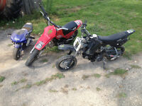 Dirt Bikes & Pocket Bike