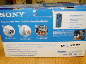 Brand New Sony Converter from VHS to DVD