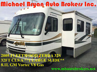2005 FLEETWOOD TERRA 33' CLS A *1 LRG SLIDE* FALL BLOW-OUT PRICE