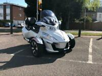 Can-Am Spyder 2017 RT-S Semi-Auto Only 2049 miles!