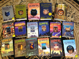 Warriors Books by Erin Hunter (individual prices in description)