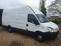 Iveco daily 35s 12 lwb 4.6m 2.3hpi moted and taxed