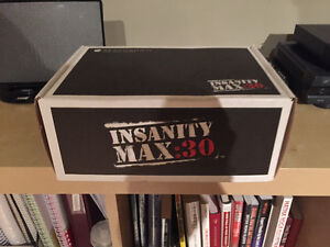 Insanity max30 workout DVDs