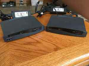 Pair (2X) Cisco 806 routers with power supplies Peterborough Peterborough Area image 1