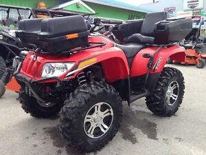 2013 Arctic Cat 700 red