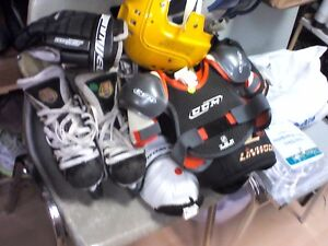 Hockey Clothes and Skates/HEARTBEAT Thrift Store/BayView Mall