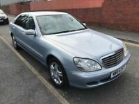 2005 MERCEDES-BENZ S320 3.2TD LIMO 127000 MILES MOT FEB 2018 2 PREVIOUS OWNERS