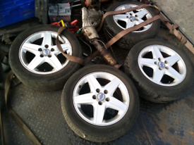 "Volvo 16"" alloy wheels"