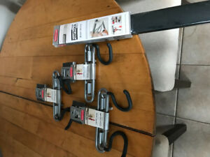 Rubbermaid FastTrac 88in with attachments New in package.