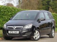 2010 Vauxhall Zafira 1.6i 16v Exclusiv***ONLY 1 PRE OWNER + 7 SEATER***