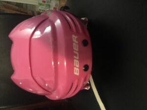 Girls Bauer helmet