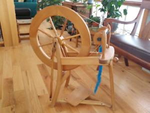 Rouet Ashford/spinning wheel
