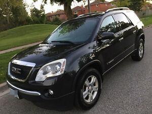 2007 GMC Acadia With E tested SUV, Crossover