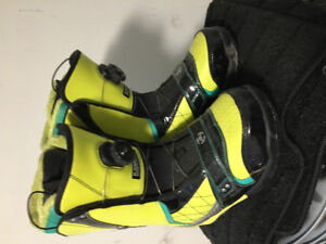 K2 snowboard boots,board and bindings