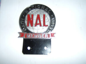 National Auto League license plate topper Peterborough Peterborough Area image 1