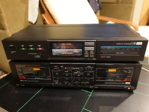 Sansui T-700 AM/FM Tuner and Sansui D-70BW Tape Deck