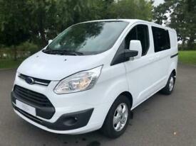 2016 Ford Transit Custom 2.0 TDCi 130ps Low Roof D/Cab Limited Van Panel Van Die