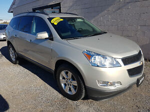 2011 Chevrolet Traverse LT AWD CERTIFIED EMISSION 9 PASSENGER
