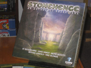 Stonehenge - 5 Jeux Stratégiques dans une seule boîte - RARE
