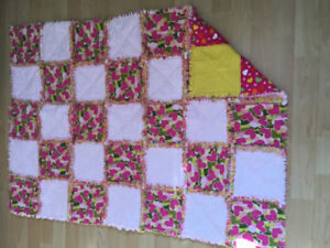 Rag quilt and comforter style quilts