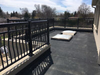 Residential/commercial railings for porch deck balcony