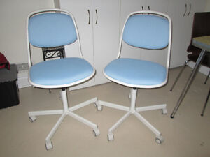 Ikea Swivel Chairs.  $50.00 Each, $90.00 For Two.