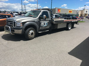 Towing plate forme