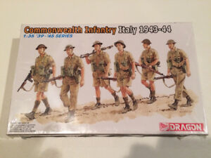 Dragon Commonwealth Infantry Model Kit  1:35 scale - New