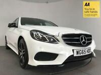 2016 65 MERCEDES-BENZ E CLASS 2.1 E220 BLUETEC AMG NIGHT EDITION 4D AUTO 174 BHP