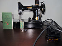 Singer Sewing Machine! Great for quilters!