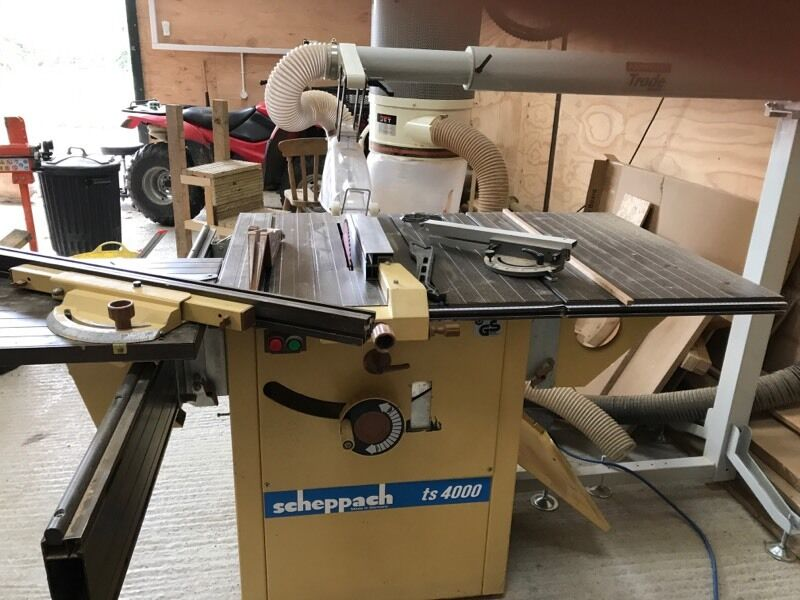 scheppach ts4000 table bench saw in east grinstead west. Black Bedroom Furniture Sets. Home Design Ideas