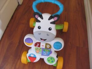 Brand new fisher price walker and learning station