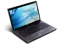 ACER I3 ASPIRE 7741 2.53 4GB 160GB WEBCAM HDMI win7  179$