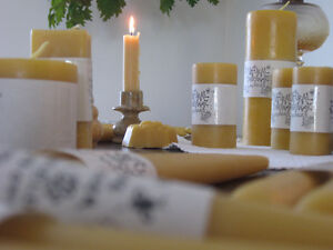 100% Natural Beeswax Candles Kitchener / Waterloo Kitchener Area image 3