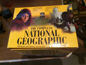 National Geographic 109 years magazine CD set