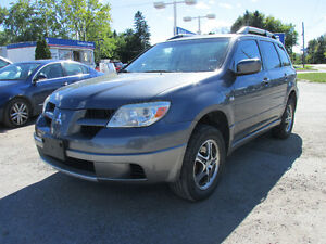 2006 Mitsubishi Outlander LS, CERTIFIED, E-TESTED