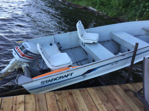 boat, trailer and lift for sale