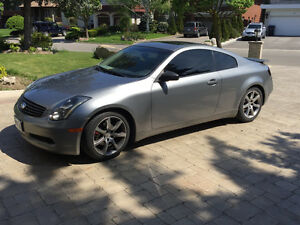 Accident Free Low kms 2004 Infiniti G35 3.5L Coupe (2 door)